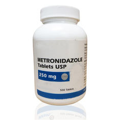 China Tableta farmacéutica 250mg de Metronidazole del grado de las tabletas farmacéuticas fábrica