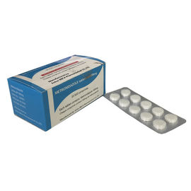 China Tableta farmacéutica 500mg/250mg de Metronidazole del grado de las tabletas farmacéuticas fábrica